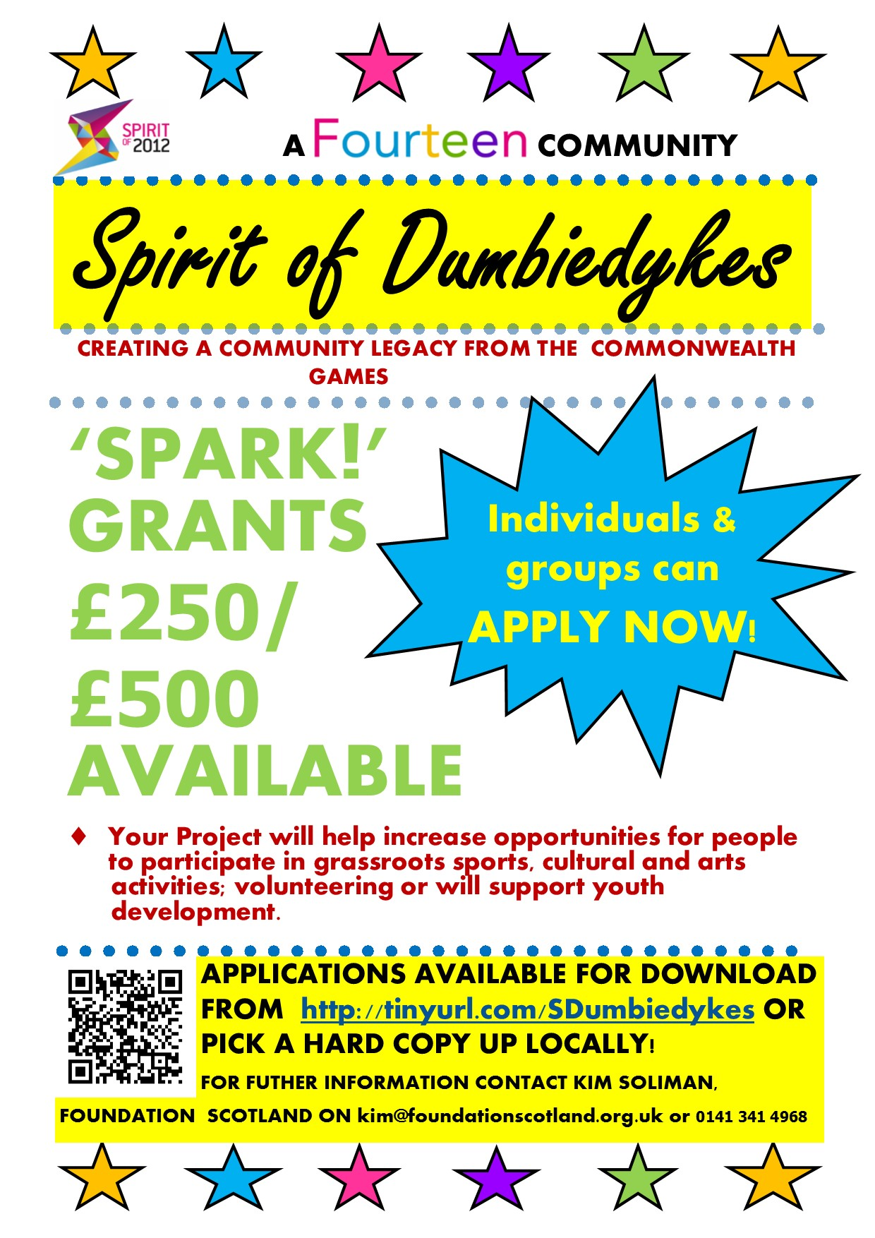 Spark Grants Dumbiedykes